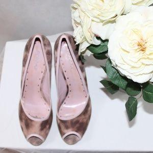 BCBGirls Light Pink and Brown Heel - New